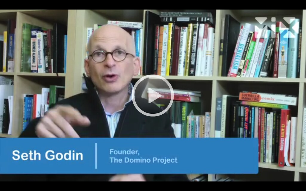 Seth Godin: Why being human is the only way to win