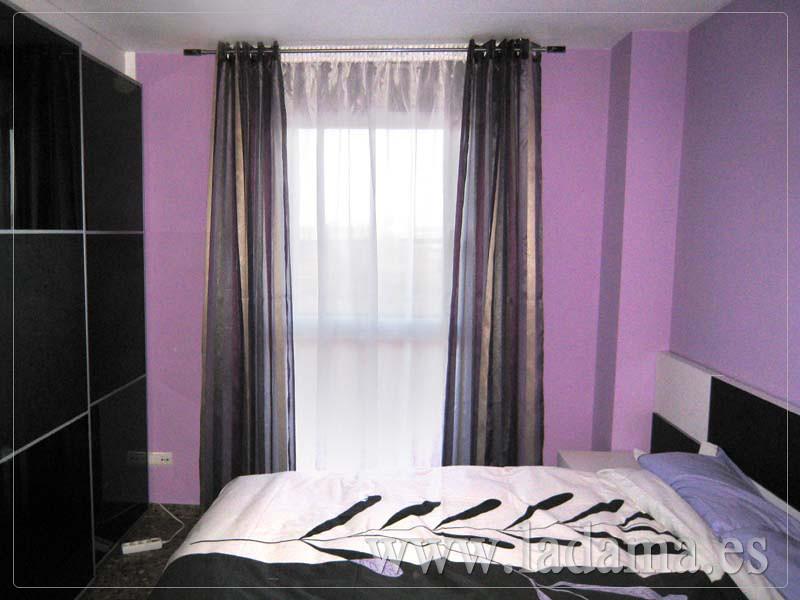 Cortinas modernas en la dama decoraci n visita nuestra for Decoracion cortinas modernas