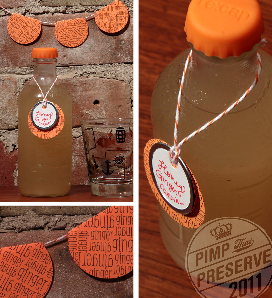 Pimp that Preserve   Ideas (Honey Ginger Cordial) wellpreservedpimpsthatpreserve December
