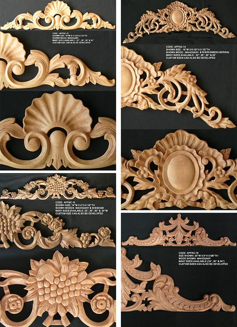 Carved Appliques Flickr Photo Sharing