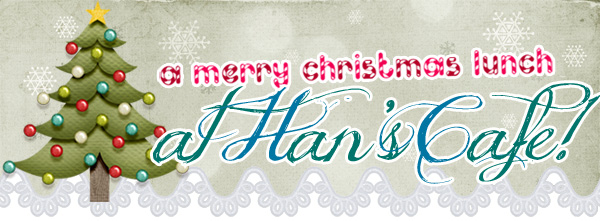 Christmas Lunch at Han's + Salon Vim Christmas Giveaways!