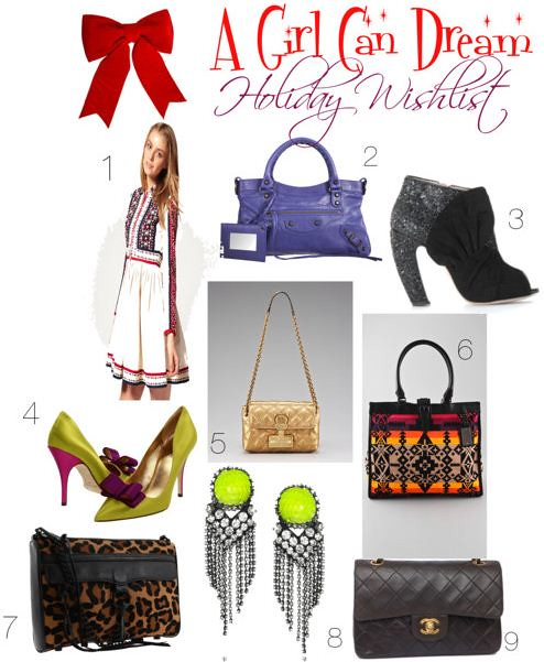 A Girl Can Dream Holiday Wishlist