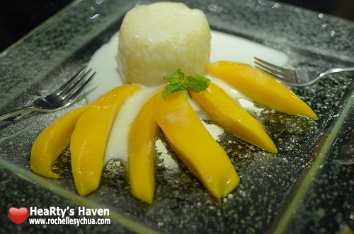 mango tree bistro mango sticky rice