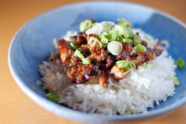 Oriental pork ribs 1