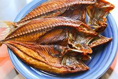 Sun-dried Fish for breakfast