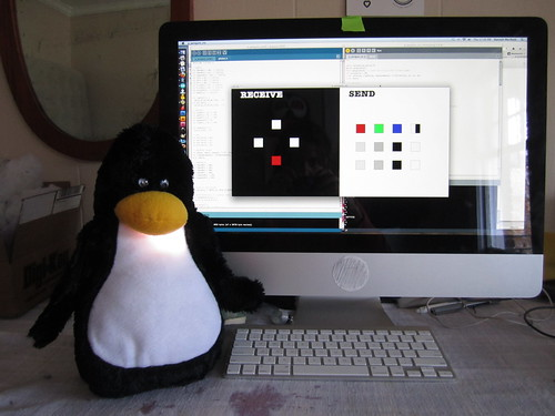 Penguin and computer