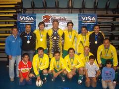Premiación en Torneo de Futsal en II Olimpiada Servicios Públicos e Interempresas