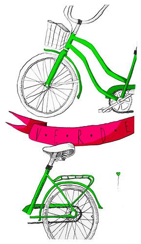 green bike by seelvana