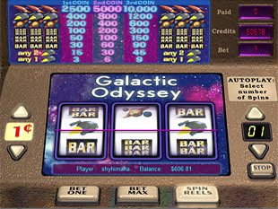 Galactic Odyssey slot game online review