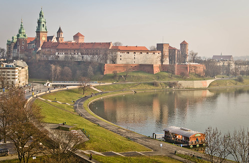 wawel in the air