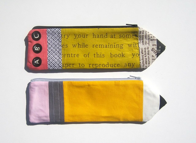 Pencil pouches side 1