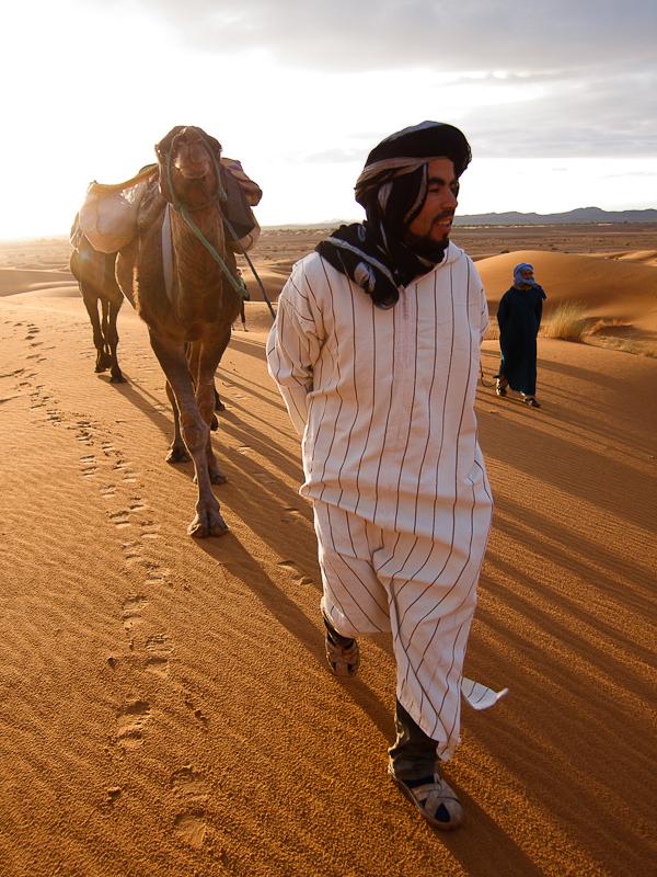 Maroc 2011 - Guides et dromadaires