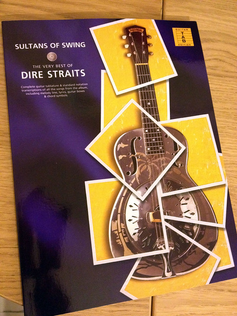 Dire Straits - Sultans of Swing guitar tabs | Flickr ...