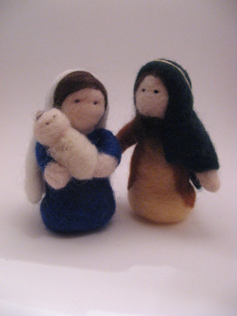 2011's Needlefelted Nativity #8