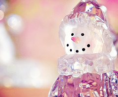 My Pink Snowman