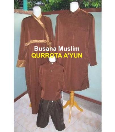 Busana Muslim 009 – Sarimbit Keluarga