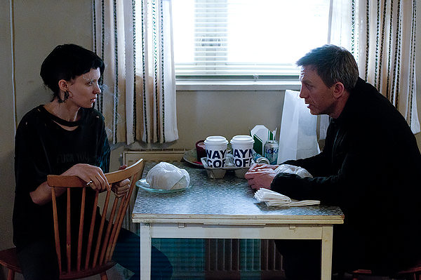 Rooney Mara and Daniel Craig are brought together for an unlikely partnership in THE GIRL WITH THE DRAGON TATTOO.