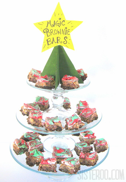 Christmas Magic Brownie Bars II