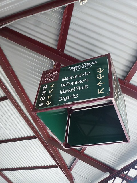 Clear signs are provided to help you navigate around the 7 hectare Victoria Market