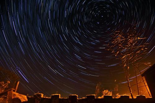 longexposure nightphotography ireland sky canon stars landscape canon5d tipperary startrails