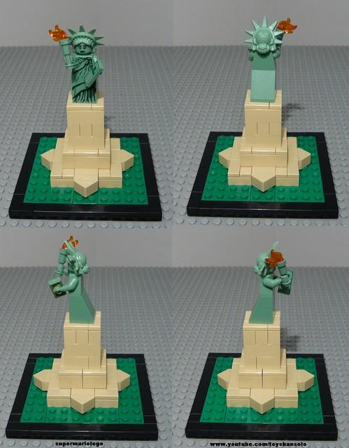 Advanced Models Lego Statue Of Liberty Lego 3450 Lego