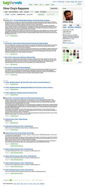 Links page - BagTheWeb - 5
