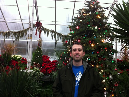 Volunteer Park Conservatory Holiday Display