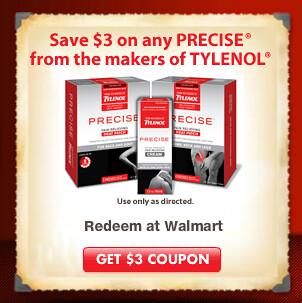 Tylenol precise coupon