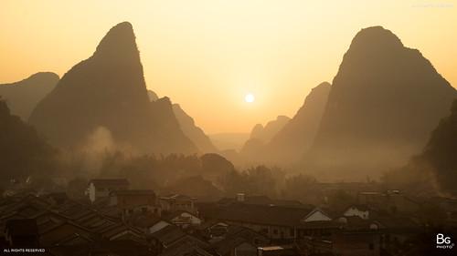 china 中國 guangxi huangyao 廣西 賀州 姑婆山 贺州 黃姚古鎮 酒是故鄉醇 十八水