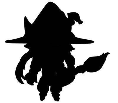 Nendoroid Petit Witch Metallica (sillhouette)