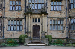 FRONT DOOR TO GAWTHORPE HALL
