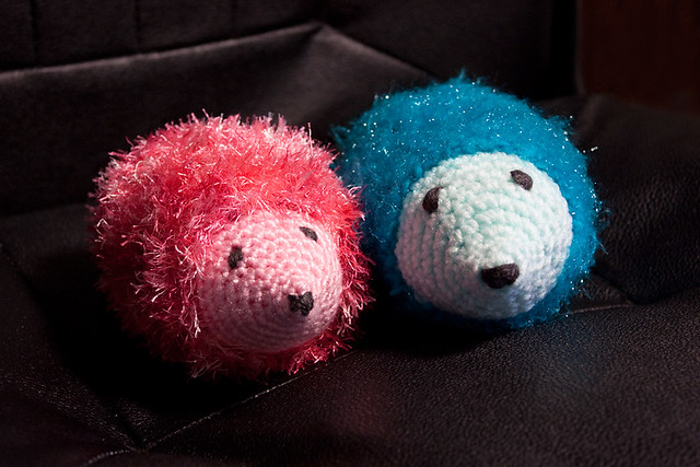 Crochet Hedgehogs