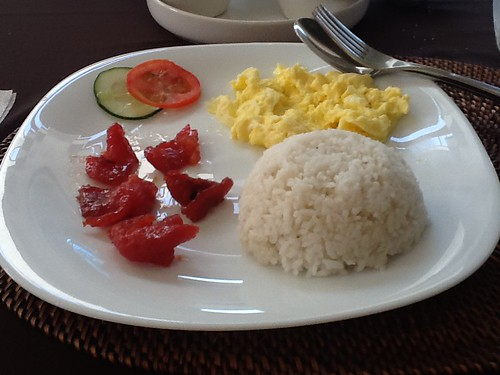 Breakfast this morning: Tosilog