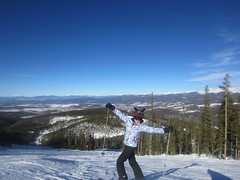 Skiing on Christmas Day!