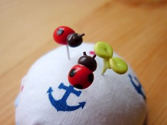 Ladybird pins