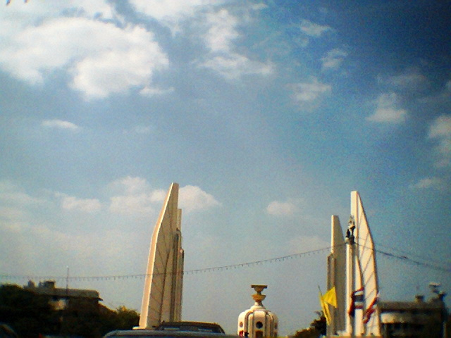 @ Democracy Monument in Bangkok