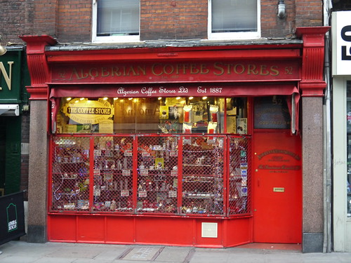 Algerian Coffee Stores - Old Compton Street, Soho by Yekkes