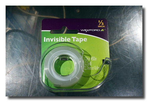 Invisible Tape | by Mark Turnauckas