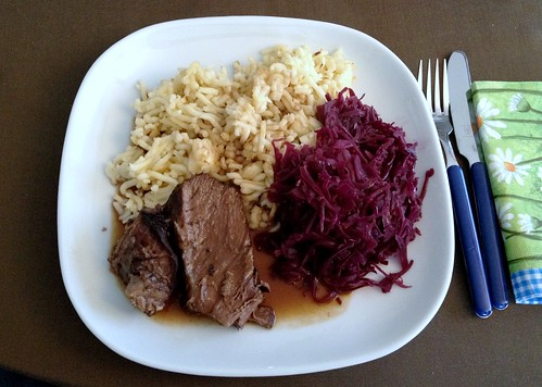 Rinderbraten / Roast beef reloaded