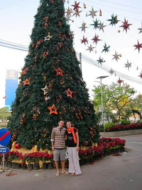 Laos Christmas Tree