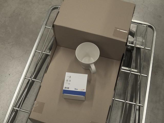 フロアランプ 電球 カップ