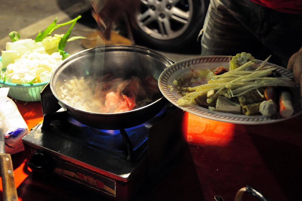 高雄明德街夜市 - 石頭火鍋