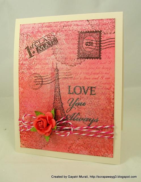 Valentine's card 2012