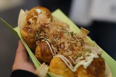 meal(0.0), produce(0.0), takoyaki(0.0), street food(1.0), food(1.0), dish(1.0), cuisine(1.0),