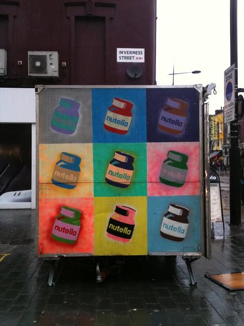 Warhol'd Nutella, Camden