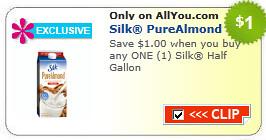 SIlk Half Gallon Coupon