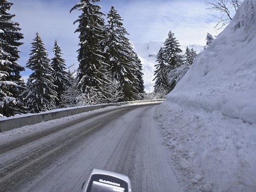 A little slick to Col de Merdassier