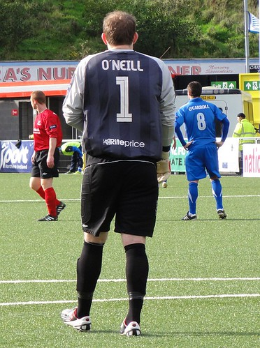 Sean O'Neill Crusaders FC Goalkeeper
