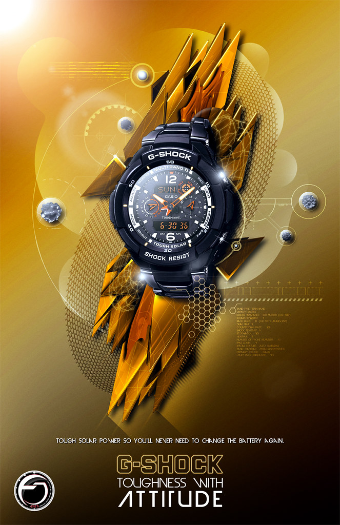 G Shock Solaris