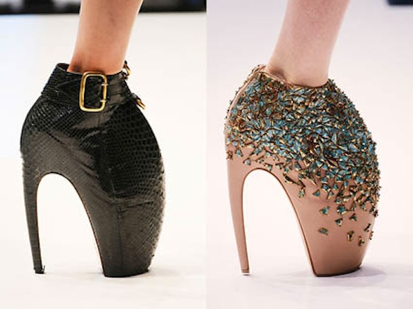 DIY Alexander McQueen Armadillo shoes